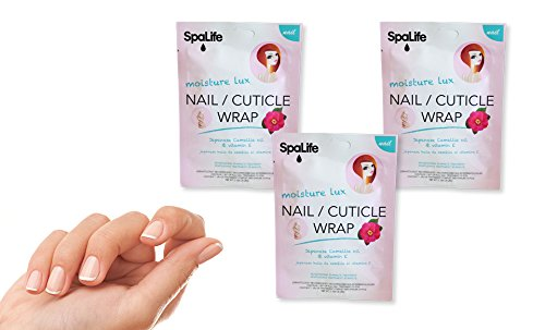 Spa Life Japanese Camellia Oil & Vitamine E Nail Cuticle Wrap – 3 Treatments (30 pieces)