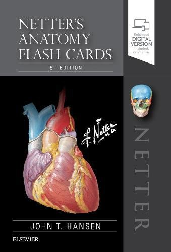 Netters Anatomy Flash Cards Netter Basic Science 5th 2018