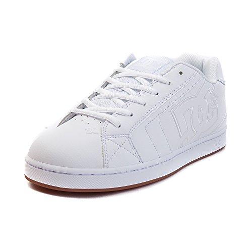 空洞ロマンス重さ(ディーシー) DC 靴?シューズ メンズスケートシューズ Mens DC Net Skate Shoe White/White ホワイト/ホワイト US 7.5 (25.5cm)