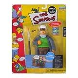 Simpsons - World of Springfield Interactive Figures - Series ? - Captain McAllister w/custom accessories