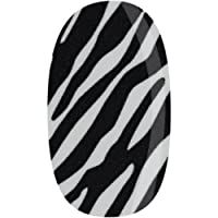 Donna Bella Nail Wrap, Zany Zebra, 1 Ounce