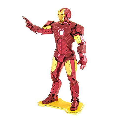 Fascinations Metal Earth Marvel Iron Man 3D Metal Model Kit