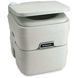 DOMETIC SANITATION 311096506 / Dometic -965 Portable Toilet 5.0 Gallon Platinum