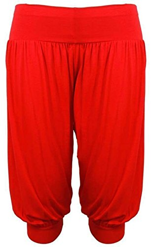 Donna Leggings Fashion Funky Shop Red AqanX7