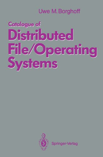 Amoeba Table (Catalogue of Distributed File/Operating Systems)
