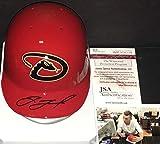 Jake Lamb Arizona Diamondbacks Autographed Signed Mini Baseball Helmet JSA WITNESS COA