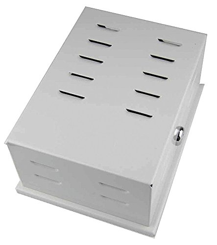 Universal Thermostat Guard, Off-White, Metal (Guard Metal Thermostat)