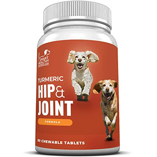 Turmeric Hip and Joint Supplement for Dogs | Glucosamine Chondroitin | Turmeric
