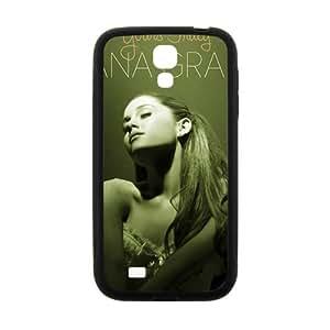 Happy Ariana Grande Fashion Comstom Plastic case cover For Samsung Galaxy S4