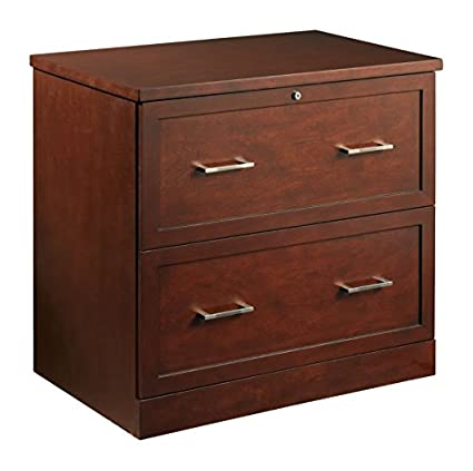 Bon OfficeMax Premium Mahogany 2 Drawer Lateral File