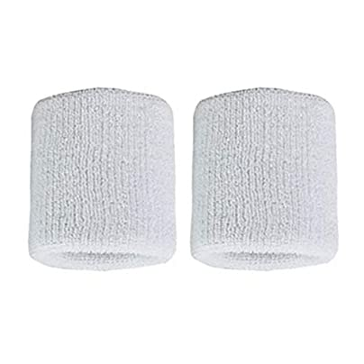 ghfcffdghrdshdfh 1Pair Pure Cotton Wristbands Men Women Wrist Bands Sweatbands for Sport Tennis Estimated Price £1.36 -