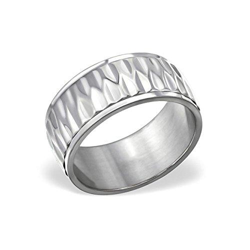Titanium Patterned Ring