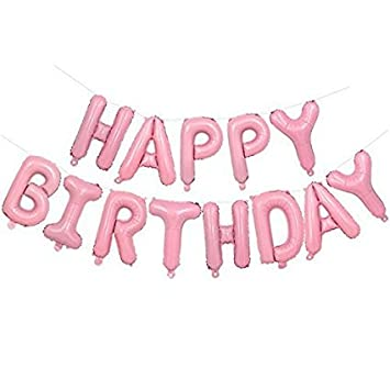 Image Unavailable Not Available For Color YZ Happy Birthday Balloons Letters
