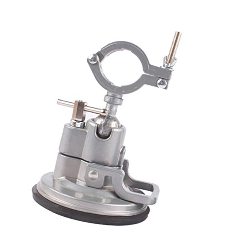 Flameer 360° Suction Cup Clamp Table Bench Vice Tools Grinder Holder Woodwork Drill by Flameer