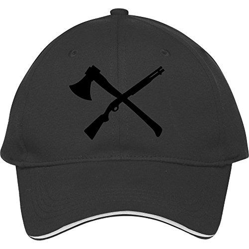 Hot Sale Snapback Hats Classicmale/female Designer Snapbacks Caps Good Quality Axe And Rifle Sports Hat?black Cotton Kelvigibbs