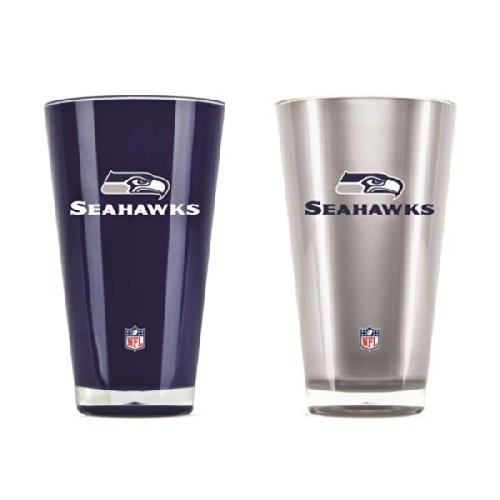 Seattle Seahawks Official NFL 20 fl. oz. Tumbler Cup Set by Duck House 016016