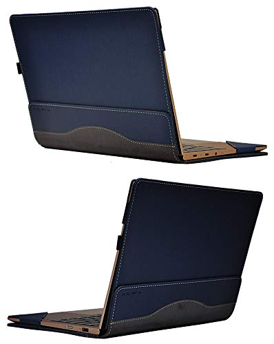 for Yoga 720 730 Case, PU Leather Detachable Cover for Lenovo Yoga 730 720 13.3 Inch Sleeve (720 730 13.3