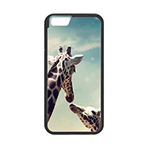 Cool Giraffes with Sunglasses iPhone 6 4.7 Inch Cell Phone Case Black R2948612