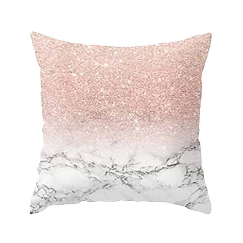Chibi-store-pillows 4545 Geometric Pillow Support Pillows for Neck Pillows Print,F,45x45cm