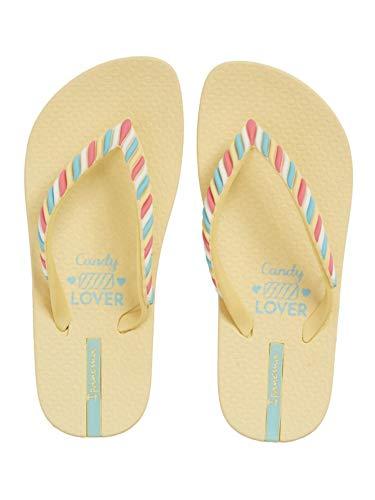 Ipanema Girls' Candy Flip-Flop, Yellow, 3 M US Little Kid -