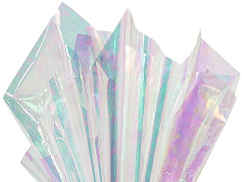 Metallic & Opal Cello Wrap - Iridescent Opal Cello Roll 30'' x100' .48 mil (1 roll) - WRAPS-OPAR3