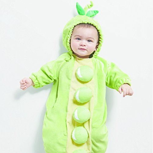 Baby Plush Peapod Bunting -