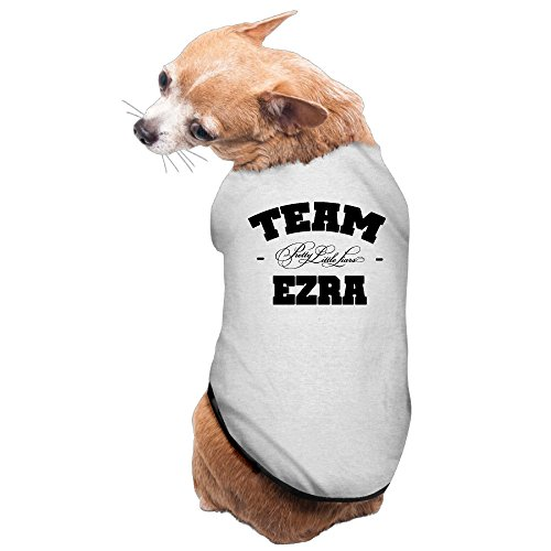 Black Pugs In Costumes (Bro-Custom Team Ezra Pretty Little Liars Tshirt For Doggy Size S Gray)