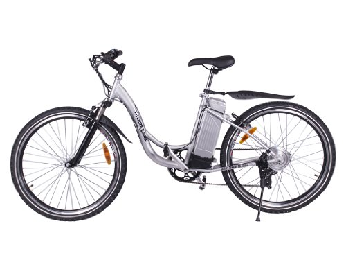 X-Treme Scooters Sierra Trails Lithium Electric Powered Mountain Bike (Aluminum/Silver)
