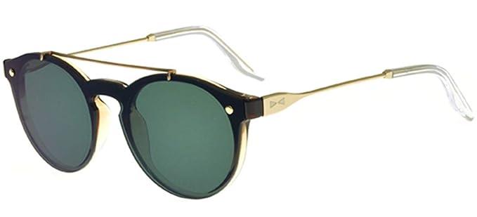 Snob Milano Gafas de Sol DOGUI DANDY SN 16M GOLD BLACK/GREEN ...