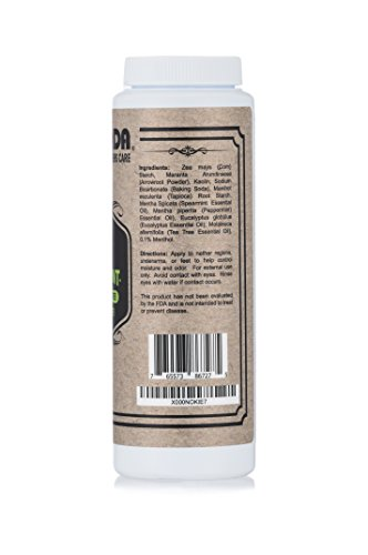 Fromonda Talc Free Body Powder (AtoneMint) menthol, peppermint & tea tree (5 oz, 1-Pack) - http://coolthings.us