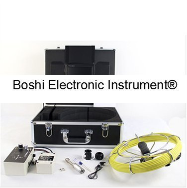 Boshi Electronic Instrument® 710DL 20m/50m Cable CCTV Inspection Camera Underwater Pipe Inspection Camera System with 512Hz Transmitter
