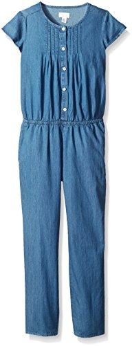 UPC 889705153354, The Children's Place Big Girls' Chambray Jumpsuit, Chambray, Medium/7-8