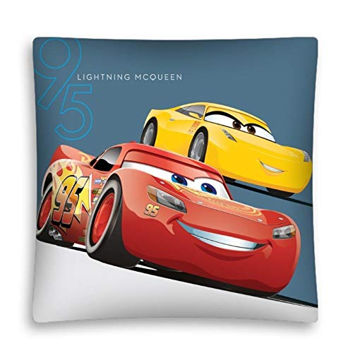 AHS Cars Disney - Funda de cojín Infantil (40 x 40 cm ...