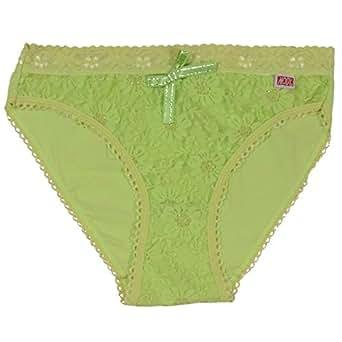 Mody Yellow Green Pantie For Women