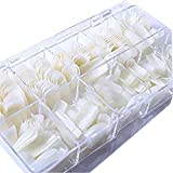 500Pcs Nails Gaga New Full Cover Natural False Nails Fake Nail Tips with Box