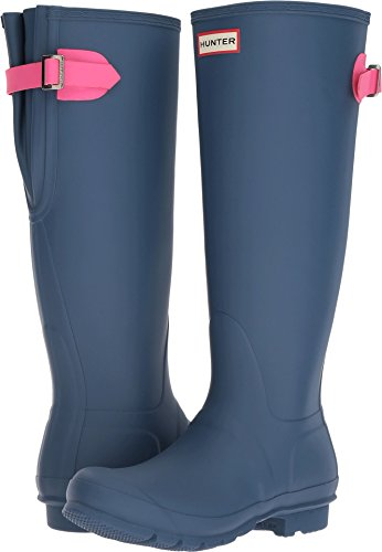 Ion Earth Blue Hunter Rain Womens Dark Back Pink Boots Original Adjustable U7Ufq