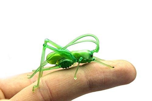 (Statue of Glass Grasshopper Cute Green Glass Grasshopper from Glass Menagerie Flame work Gift)