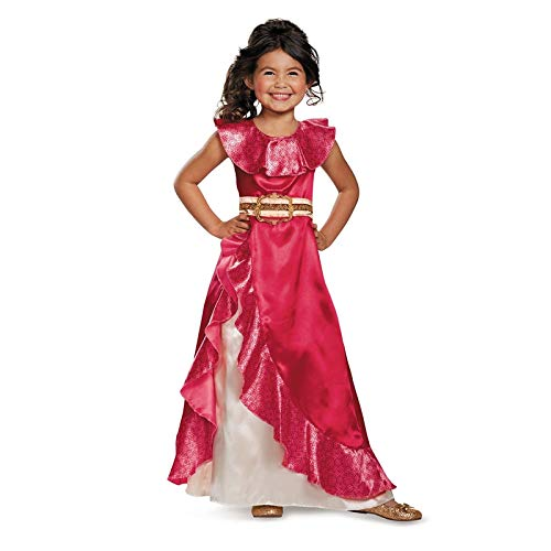 ArMordy - Girls New Favourite Latina Princess Elena from TV Elena of Avalor Adventure Next Child Halloween Costumes -