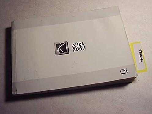 2007 saturn aura owners manual saturn amazon com books rh amazon com 2007 saturn aura xr service manual 2007 saturn aura xr service manual