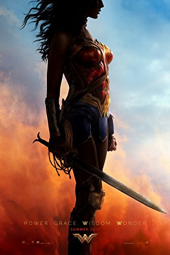 WONDER WOMAN (2017) Original Authentic Movie Poster 27x40 - Ver. 'A' - Double - Sided - Gal Gadot - Chris Pine