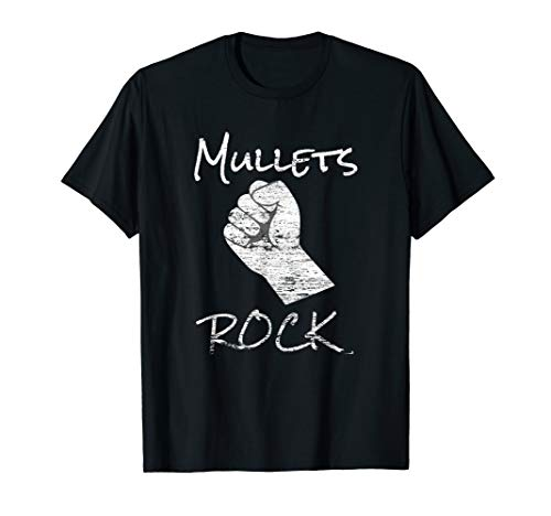 Funny Mullet Mullets Rock 80's Party Costume  ()