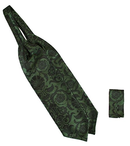 Historical Emporium Men's Satin Penworth Ascot Green]()