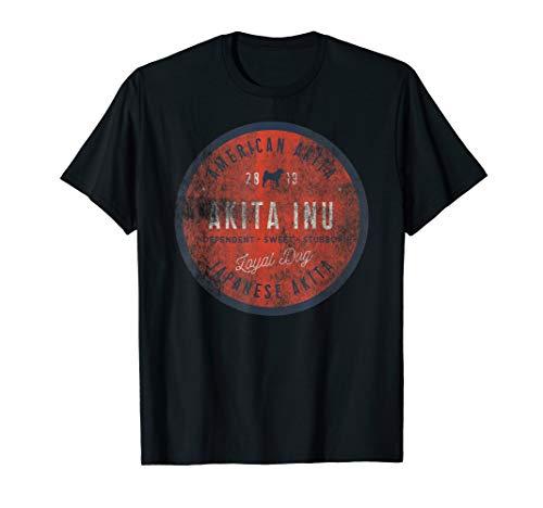 Loyal Dog AKITA INU Shirt - Uniue Gift American Japanese ()