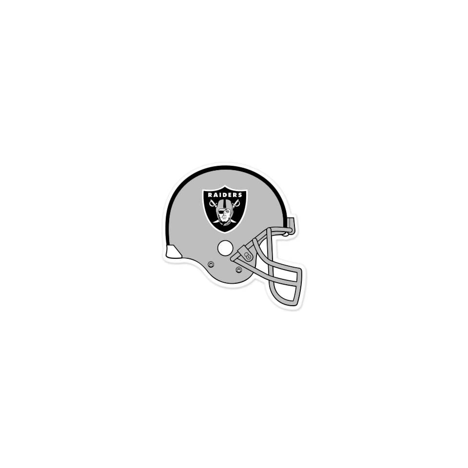 "Oakland Raiders NFL Large Sticker (12"" x 12"") Cornhole Wall Car  Sports Fan Bumper Stickers  Sports & Outdoors"