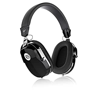 OUCOMI Over Ear Upgrade Guitar Headphones with In-Line Control Music Headphones with Microphone Black