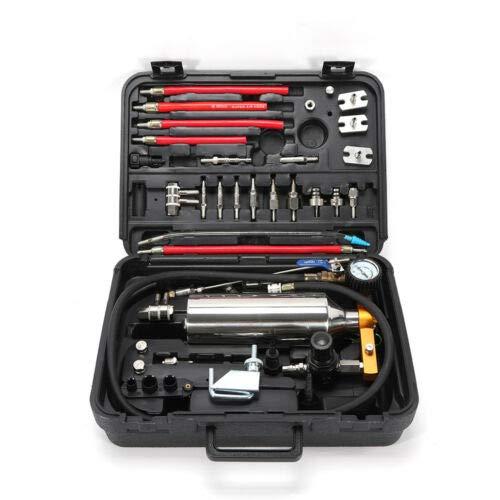 WUPYI2018 Injektor Reiniger Werkzeug,Non-dismantle Fuel Injector Cleaner Kit und Tester