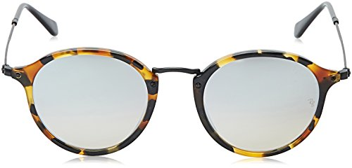 2447 Ray Sonnenbrille Havana RB classic Round Ban Spotted Black nfqBwO