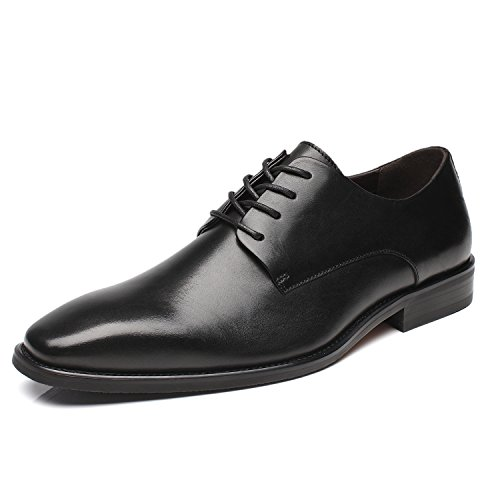 La Milano Men's Modern Shoes Oxfords Captoe Classic Round wv8wOf