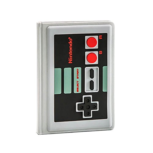 Nintendo Official Licensed NES Design Premium A5 Notebook Journal Book