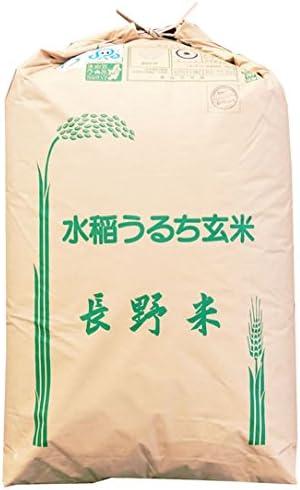 【玄米】長野県伊那産 特別栽培米 玄米 上伊那 「A」受賞(昨年) こしひかり 1等 30kg (長期保存包装) 令和元年産